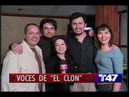 El Clon (O Clone) - Actores de doblaje en nota de Telemundo