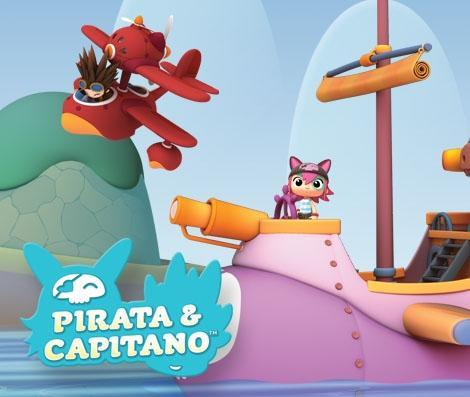 Pirata y Capitano