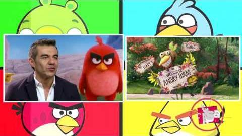 Entrevista con los actores de doblaje de Angry Birds