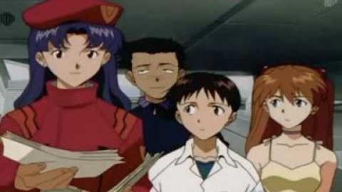 Evangelion - Fragmento del episodio 8