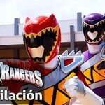 Power Rangers en Español Rangers Dino Super Charge juntos!