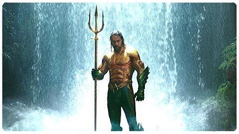 Aquaman toma el tridente del Rey Atlan Aquaman (LATINO)