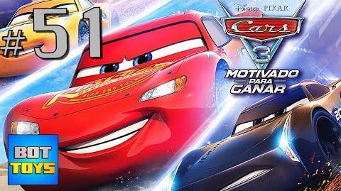 Cars 3 El Juego en Español 51 DIRECTO Motivado para Ganar Hacia la Victoria