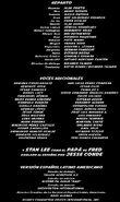 Creditos del DVD