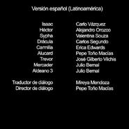 Credits(ep.5 temp.2) Castlevania