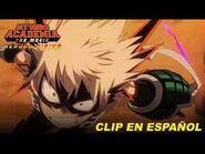 My Hero Academia- Heroes Rising, Clip -2 Doblaje en Español Latinoamericano.