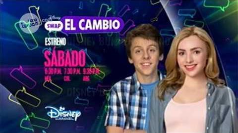Swap- El cambio - Promo 2 Febrero 2017 - Disney Channel Latinoamérica