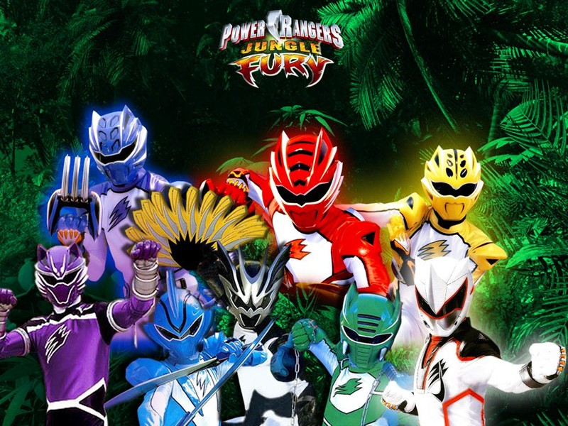 Power Rangers: Furia Animal