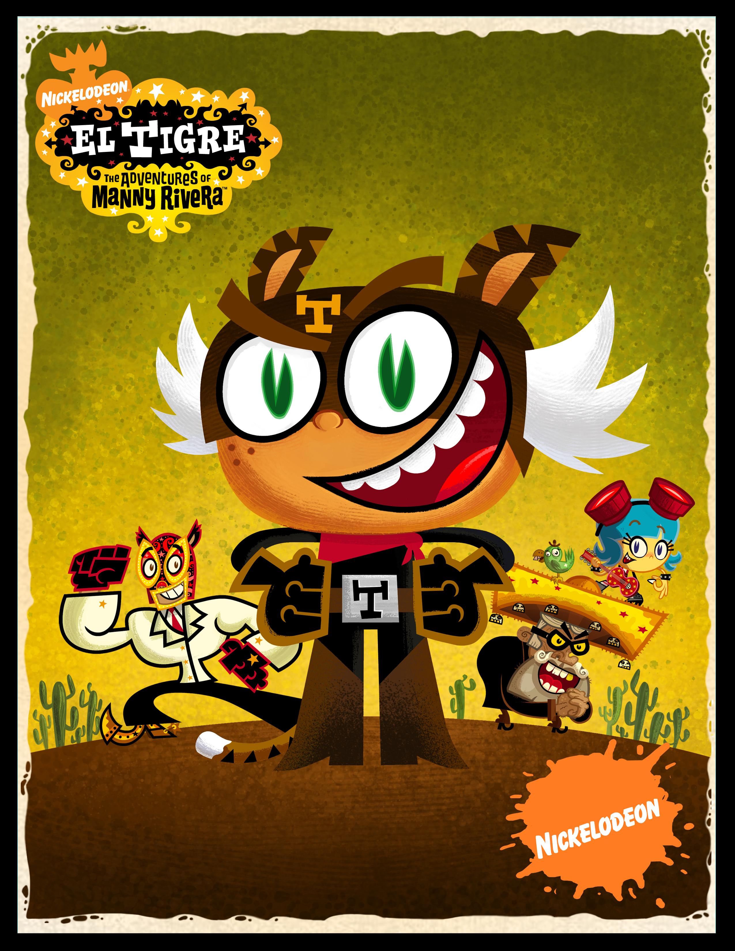 El Tigre: Las aventuras de Manny Rivera