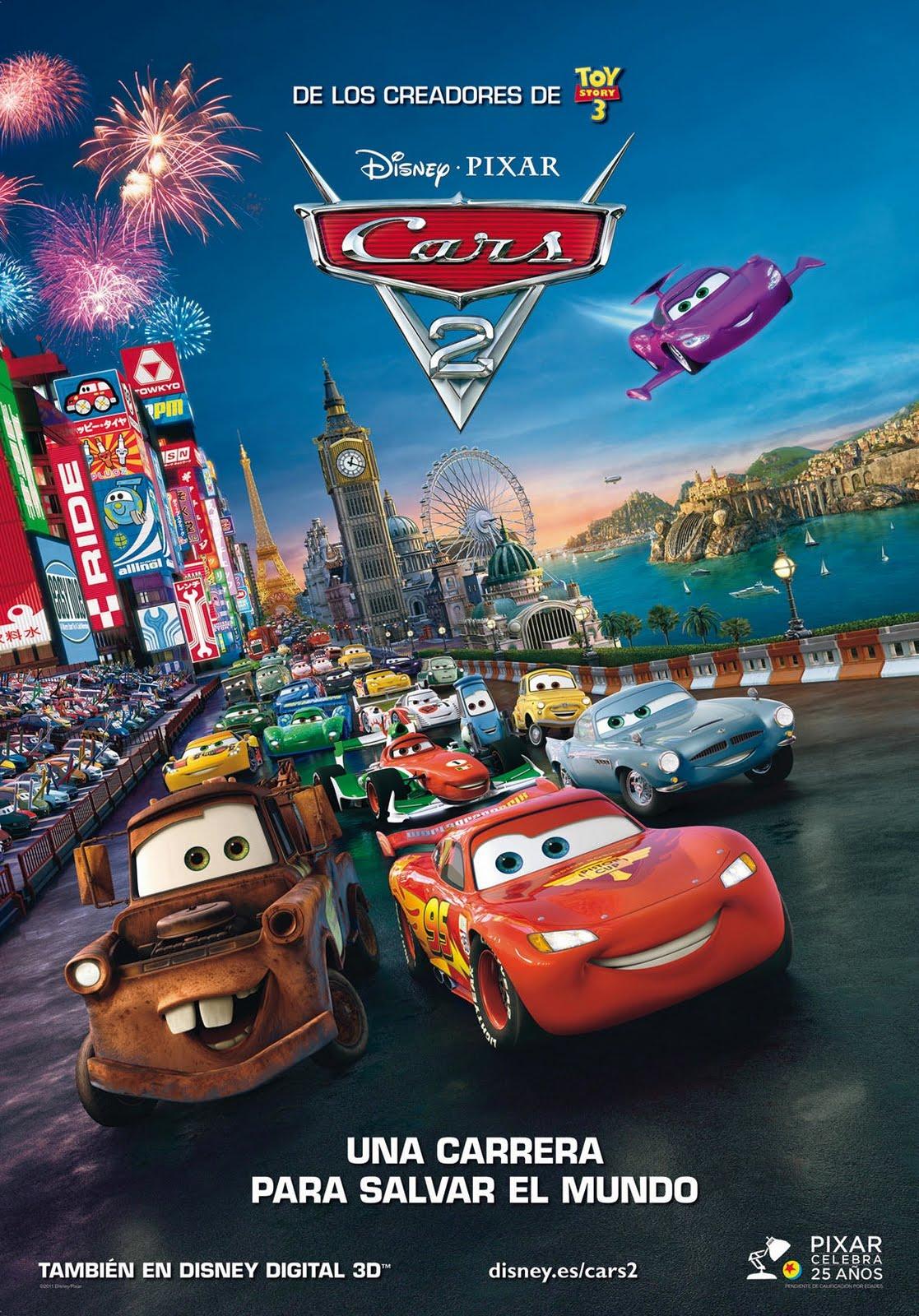 Cars 2 Una Nueva Aventura Sobre Ruedas Doblaje Wiki Fandom