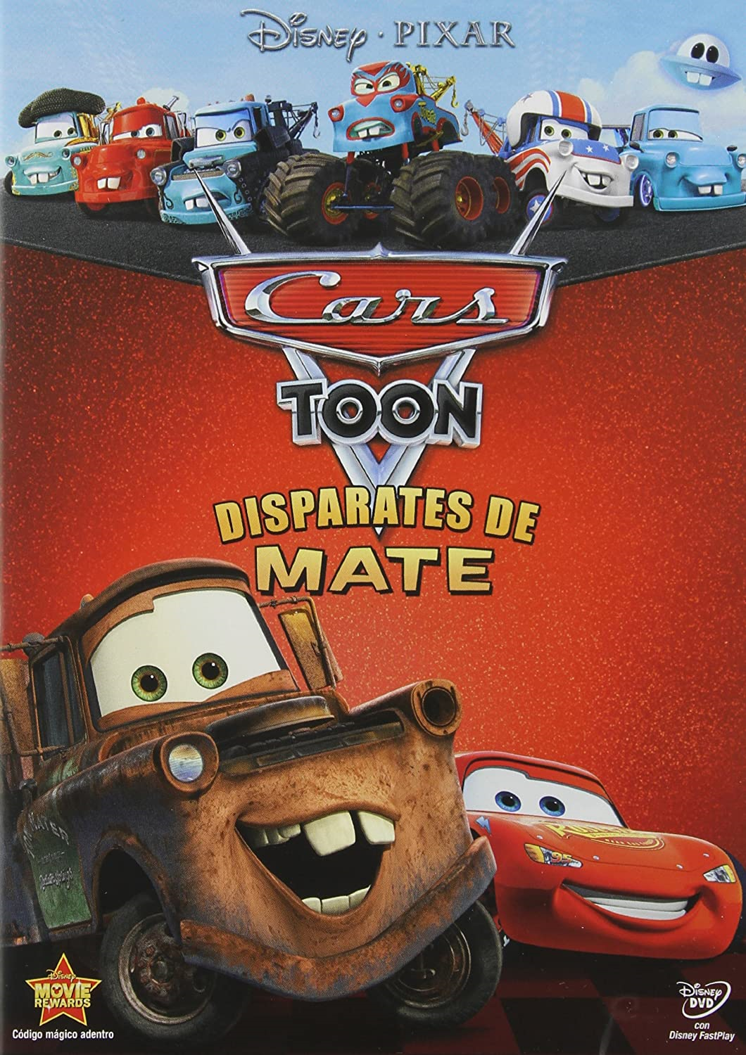 Cars Toons: Disparates de Mate