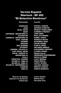 Doblaje Latino de Sherlock (4ª Temp. - Cap. 2)