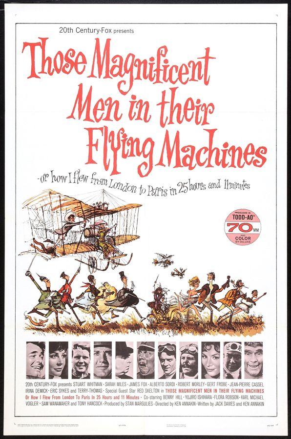 Esos magníficos hombres en sus máquinas voladoras