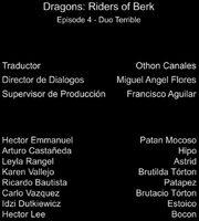 Doblaje Latino de Dragones Jinetes de Berk (Capitulo 4)