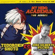 My Hero Academia - Dos Héroes (Actores presentados 08)