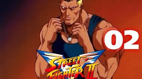 Street Fighter II V - CAP.02. El jefe de las fuerzas armadas