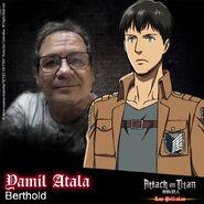 Attack on Titan Las películas (Actores presentados 09)