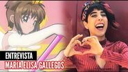 OPENING 2 DE CARD CAPTOR SAKURA (ESPAÑOL LATINO) ENTREVISTA A MARIA ELISA
