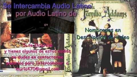 The Addams Family 1991 Doblaje Latino Argentino