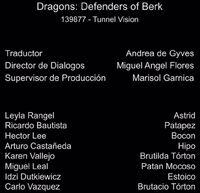 Doblaje Latino de Dragones Defensores de Berk (Capitulo 4)