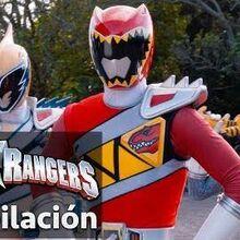 Power Rangers en Español Rangers Dino Super Charge juntos!-0