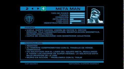 ARCHIVOS SECRETOS DE LA ANS Meta Man