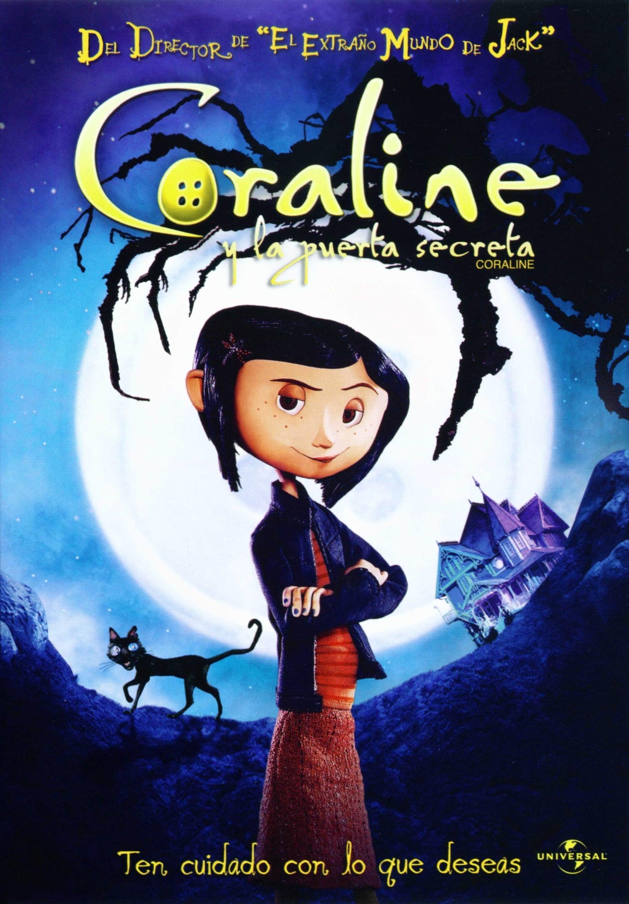 Coraline y la puerta secreta