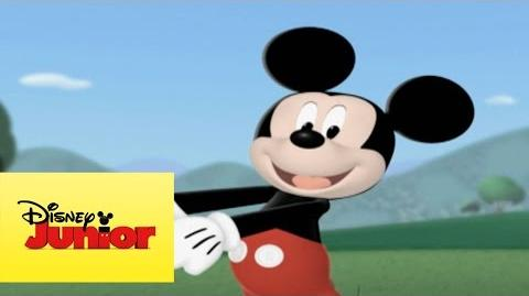 Mousekejercicios Balanceo con Donald
