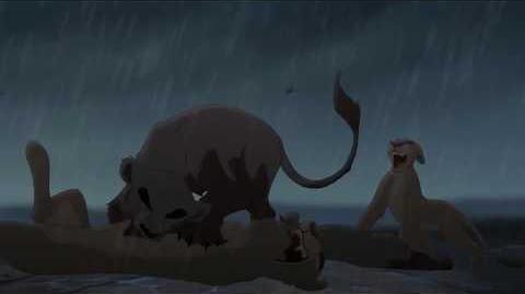 """Zira (8 9) español spanish """"El rey león II el reino de Simba""""."""