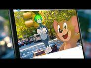 """""""Tom y Jerry"""". Muy pronto en la pantalla grande. Oficial Warner Bros"""