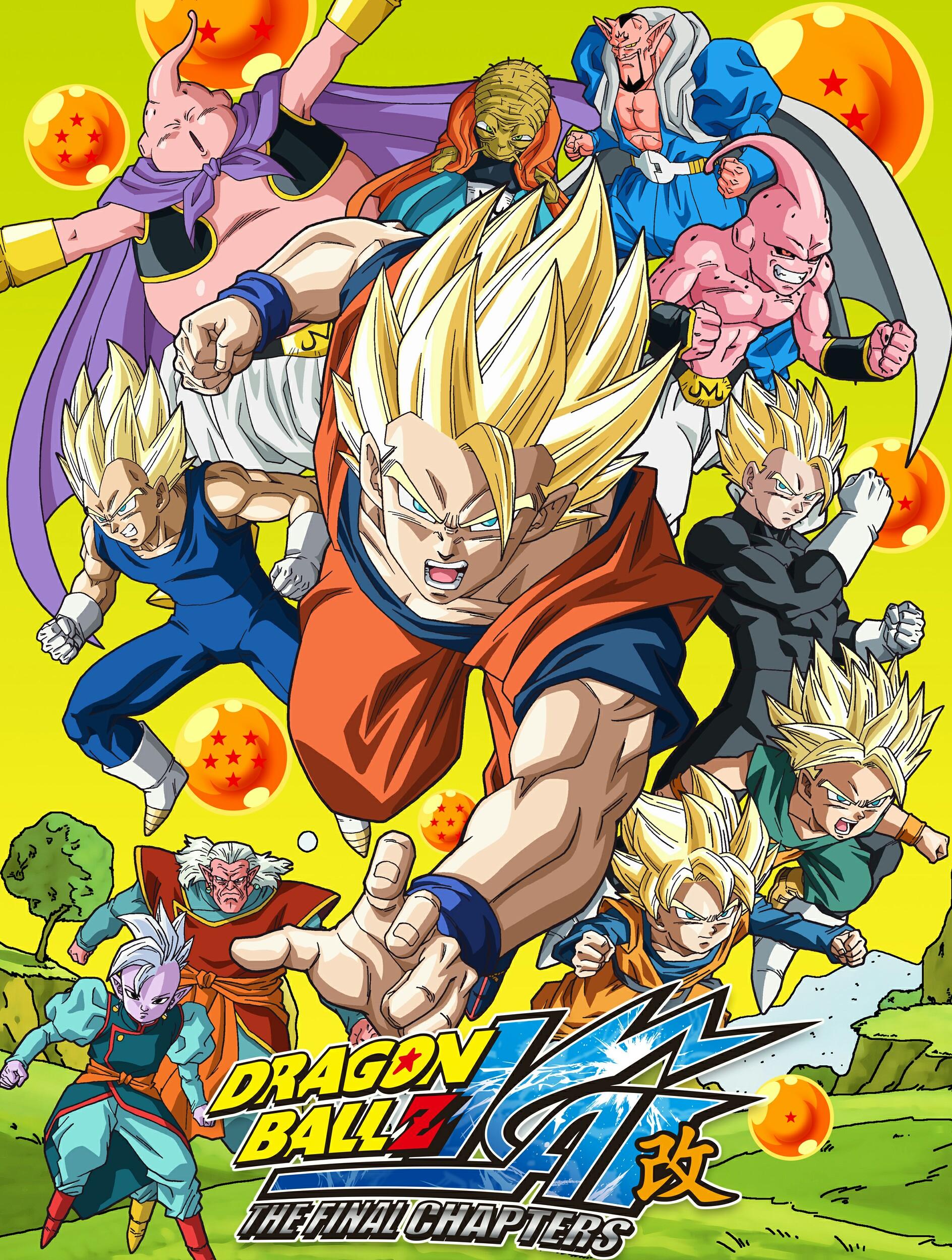 Dragon Ball Z Kai: Los capítulos finales