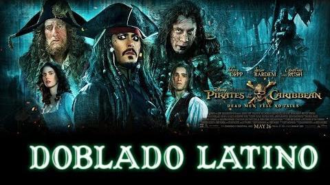 Piratas del Caribe 5 La Venganza de Salazar ☠ Trailer Doblado Español Latino CINE