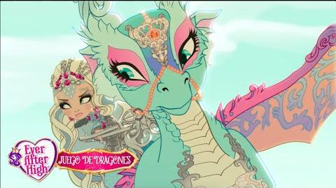 Princesas poderosas y sus Dragones Dragon Games Ever After High