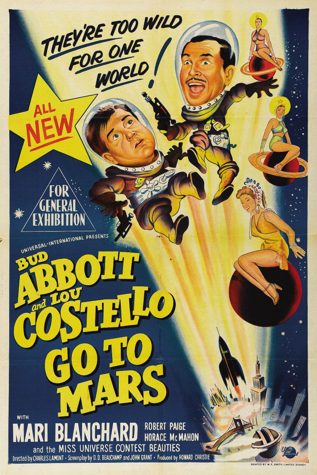 Abbott y Costello: En Venus