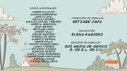 Creditos de doblaje The Loud House ESLA (S326-2)