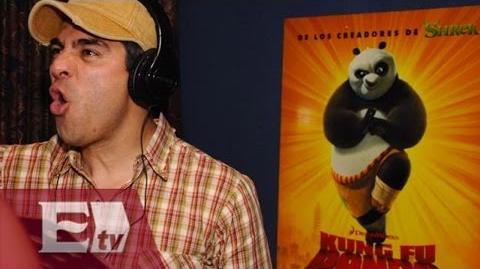 """""""Kung Fu Panda 3"""" con Omar Chaparro en la versión en español Yuriria Sierra"""