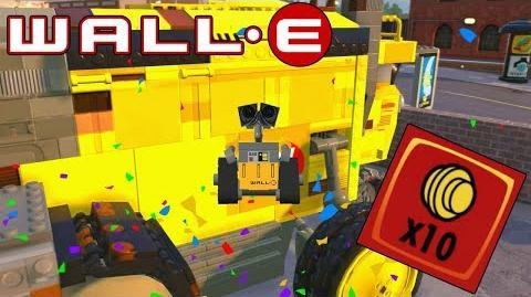 "¡¡DESBLOQUEANDO A WALL-E (WALL-E)!! Y LADRILLO ROJO ""MONEDAS X10"""