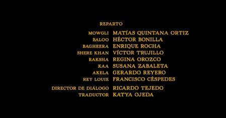 El libro de la selva (2016) Doblaje Latino Creditos 1.png