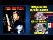 The Hitman -1991- Comparación del Doblaje Latino Original y Redoblaje - Español Latino