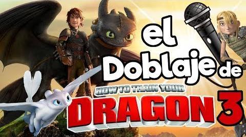 El doblaje latino de Como Entrenar a tu Dragon 3 Memo Aponte