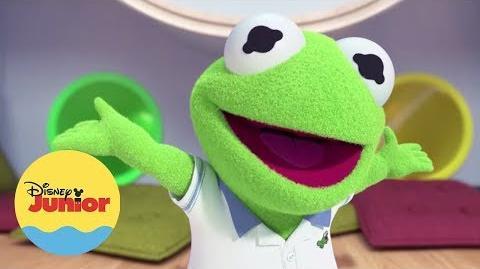 Kermit Hora del Show Muppet Babies-1