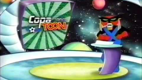 Promo Copa Toon 2005 Todo El Mes - Cartoon Network Latino (Julio 2005)