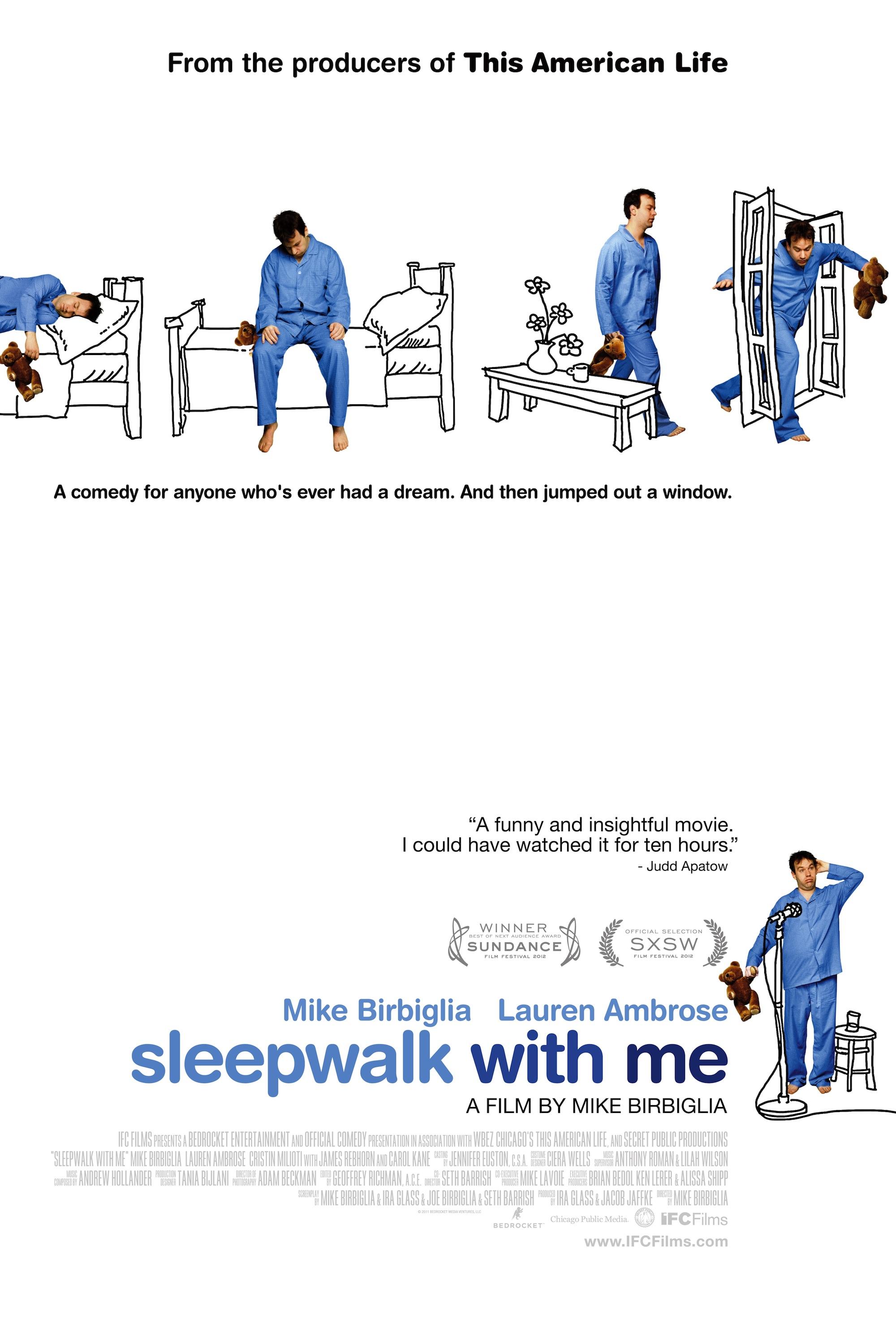 Camina dormida conmigo