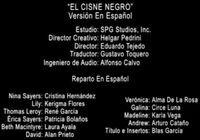 Doblaje Latino de El Cisne Negro