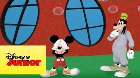 Mousekejercicios Goofy y las burbujas
