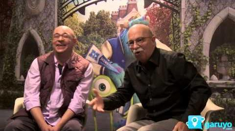 Entrevista Cast de Monsters University. Disney Pixar
