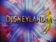 Cabecera Disneylandia en español.