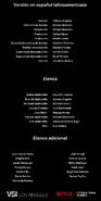 Créditos doblaje Selena La serie (temp. 1 ep. 8)