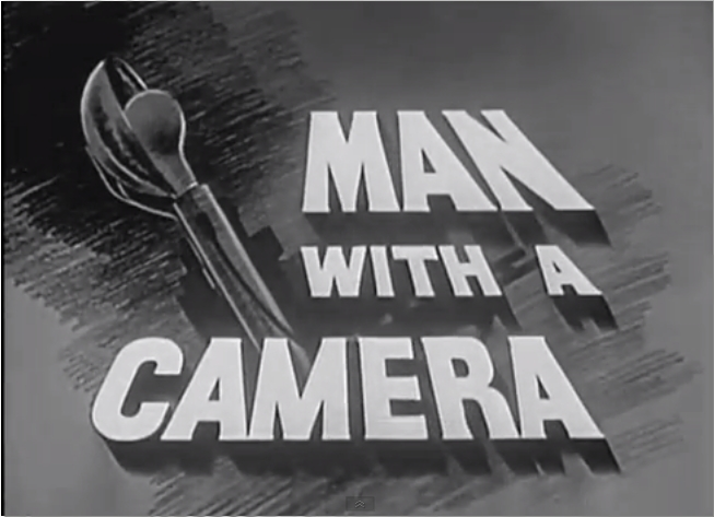 El hombre de la cámara