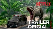 Jurassic World Campamento Cretácico Tráiler oficial Netflix